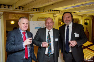 Bruno Boccard and the UK managers to celebrate our First 100 years
