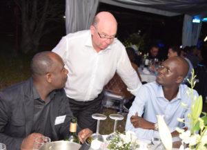 Christophe Allou (Boccard Côte d'Ivoire), Thierry Baro (Boccard Construction Maintenance) et Bocar Boye (Boccard Côte d'Ivoire)