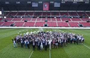 Les équipes Boccard sur le Stade Rennais